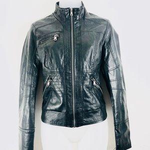 Xhilaration Women's Leather Jacket Size M